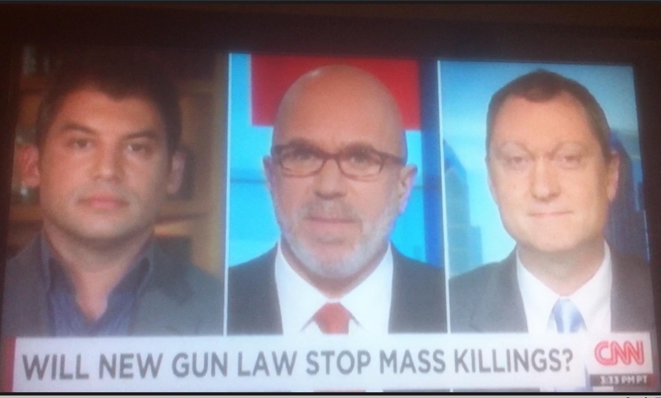 CNN Update: CPRC On CNN: Notes On California's New Gun Violence