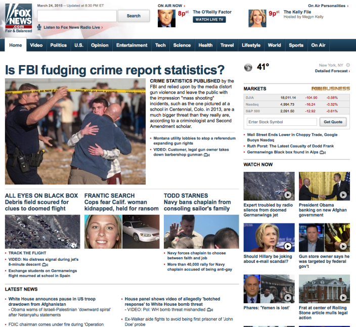 Is FBI fudging crime report statistics