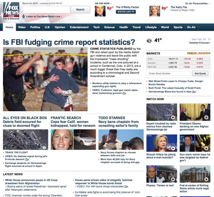 Is FBI fudging crime report statistics