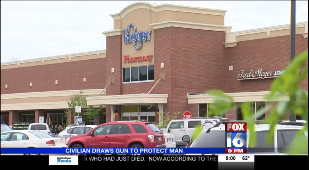 Arkansas Kroger attack stopped 2