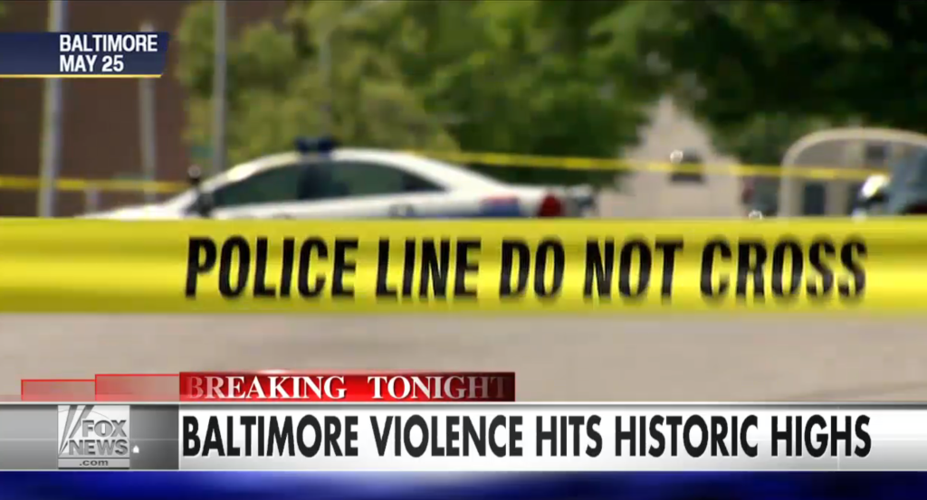 Baltimore murder rate
