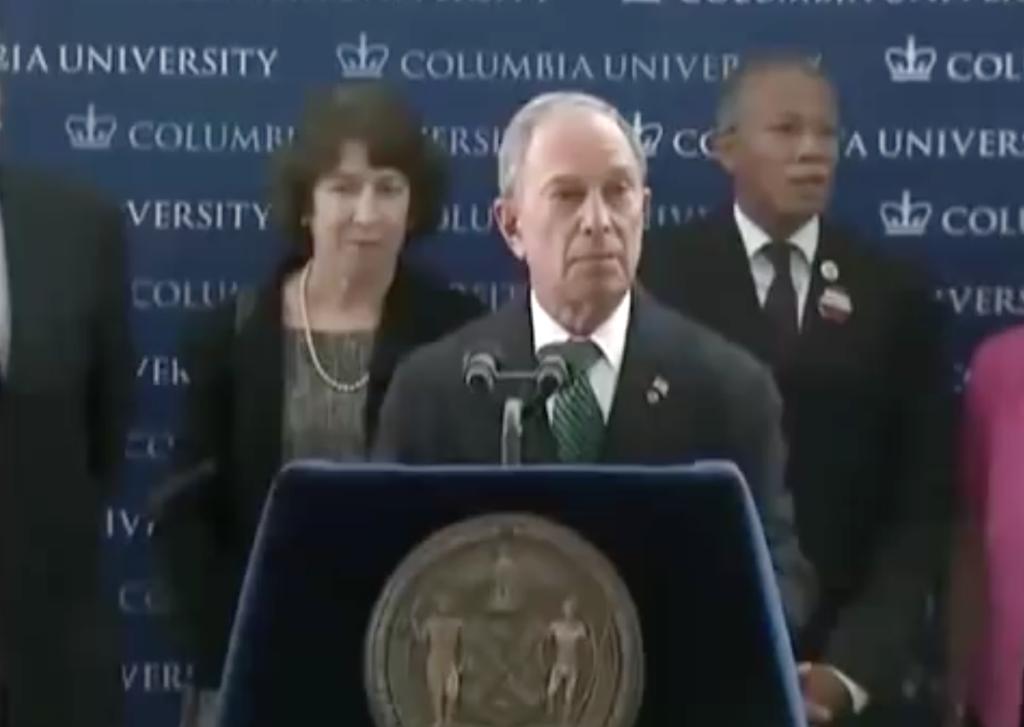 Michael Bloomberg at Columbia University