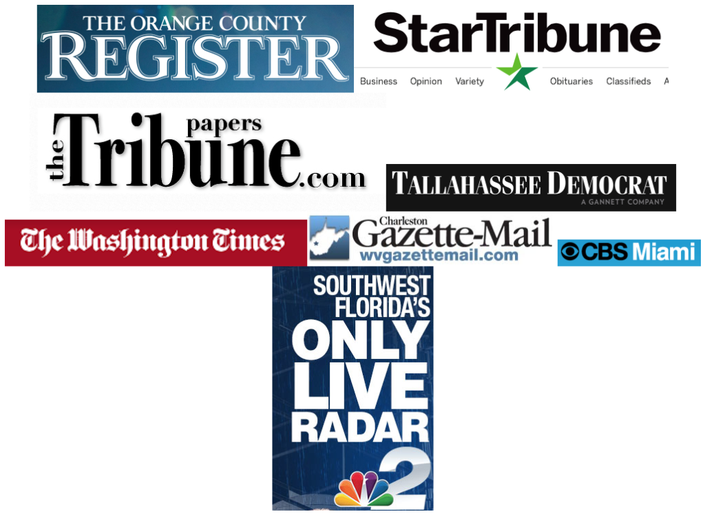 Mastheads for newspapers