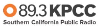 KPCC Southern California Public Radio Banner