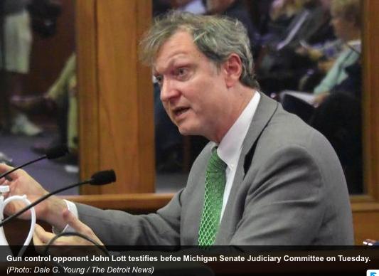 Lott testimony Michigan Senate
