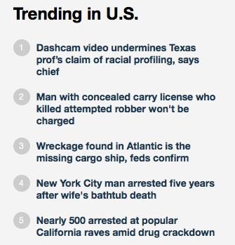 Chicago DGU Fox News ranking