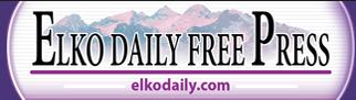 Elko (Ca) Daily Free Press Banner