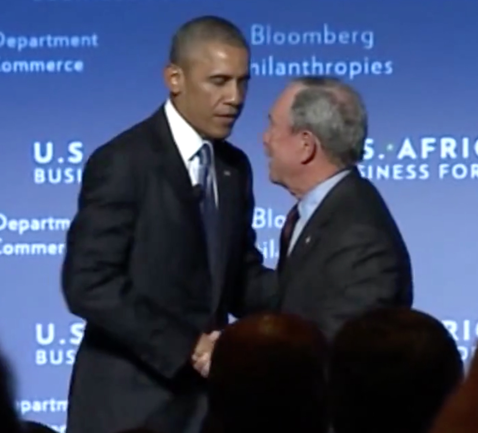 Obama and Bloomberg
