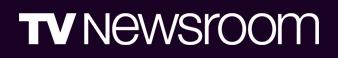 TV Newsroom Banner
