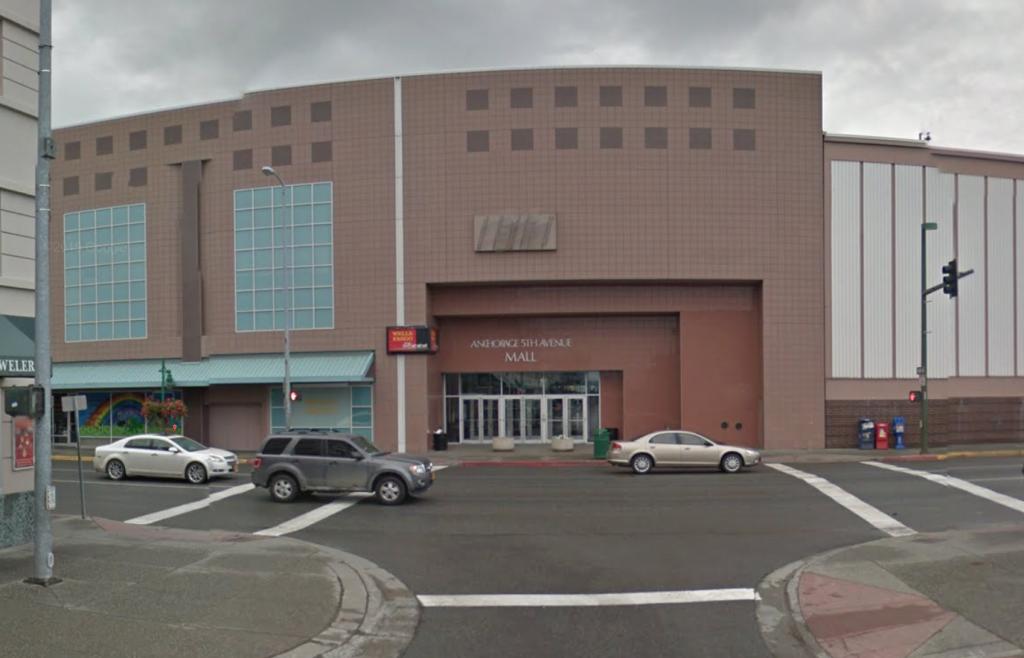 Anchorage Alaska 5th Av Mall
