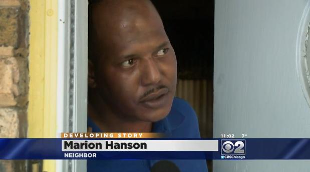 Chicago Neighborhood early morning shooting 01132016 - neighbor