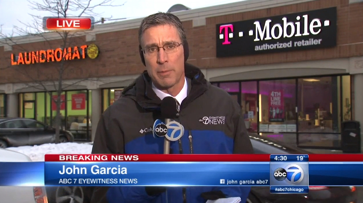 Chicago T-Mobile Shooting TV Reporter 01132016
