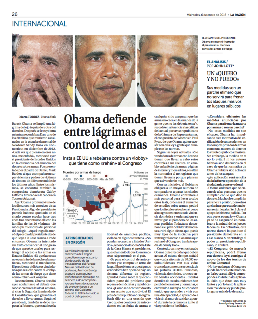 Lott Spain Obama comments