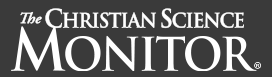 Christian Science Monitor Banner