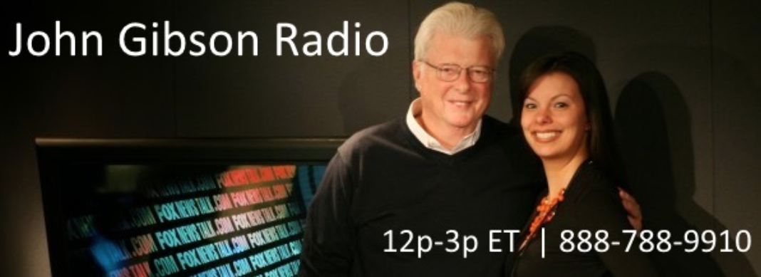 John Gibson Show Banner