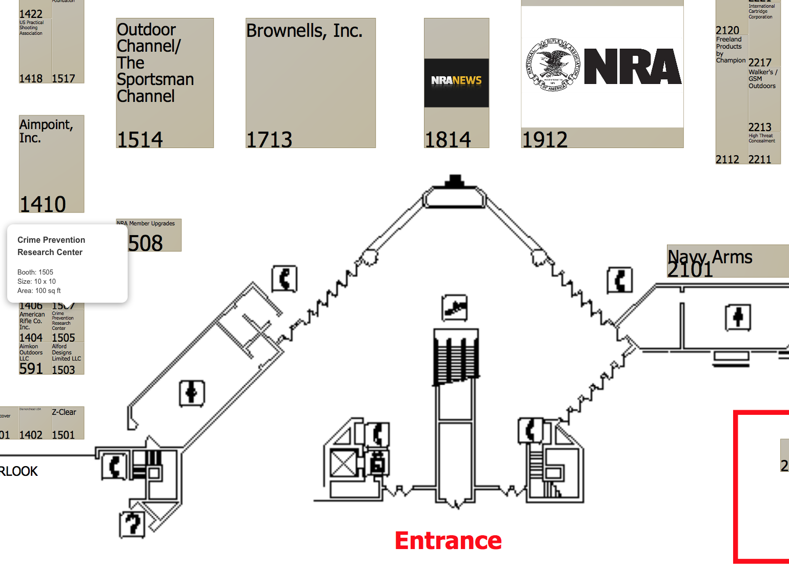 cprc will have a booth at the nra convention this coming weekend